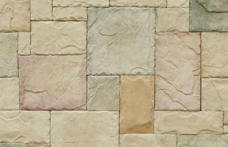 Piedra cultivada para exteriores e interiores con texturas naturales